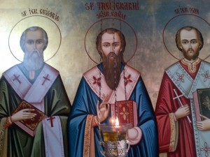 Basil the Great, Gregory the Theologian and John Chrysostom