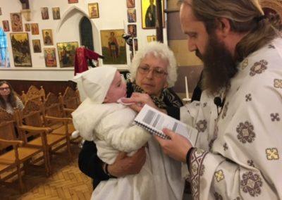 Erfyl's Baptism