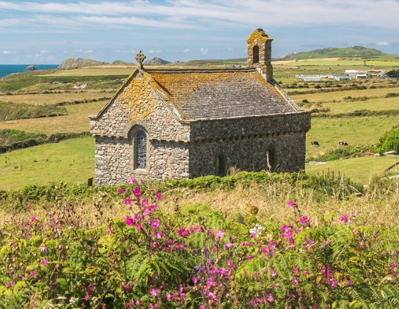 Forthcoming pilgrimage to St Nons Chapel, St Davids