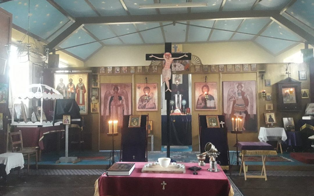 Great Wednesday –  Service of Holy Unction – 15/04/20