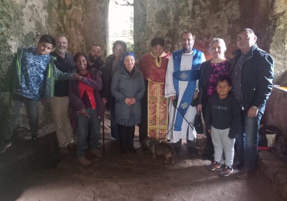 Pilgrimage to St Govans Chapel Pembrokeshire